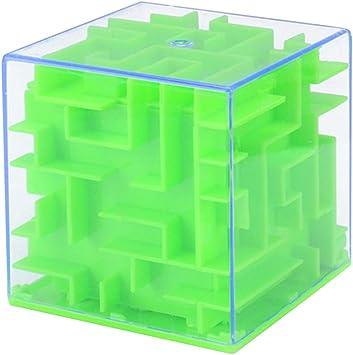 Singeru Money Maze Puzzle Money Maze Box Caja de Regalo Huchas para niños Caja de Dinero niñas niños Moneda (Verde): Amazon.es: Juguetes y juegos