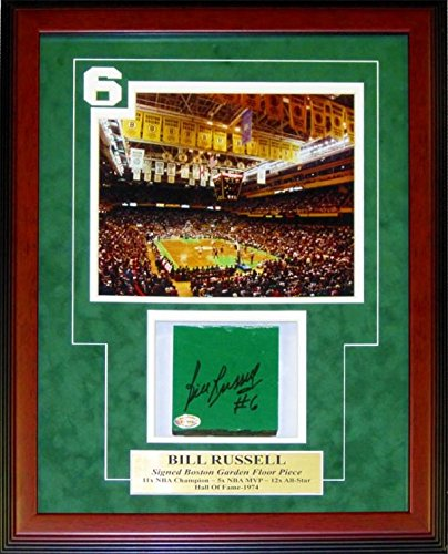 Image Unavailable. Image not available for. Color  Bill Russell Autographed  Framed Boston ... 6132326ad