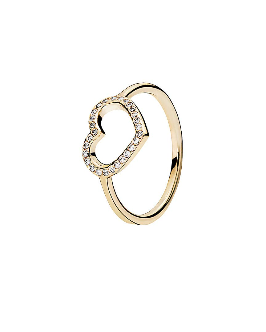 Pandora-Captured-Heart-Ring-14k-Gold-and-Clear-CZ-150179CZ-52-EU-6-US