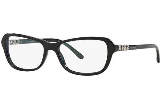 eaff375921e Bvlgari BV 4096B 501 Eyeglasses Black at Amazon Men s Clothing store