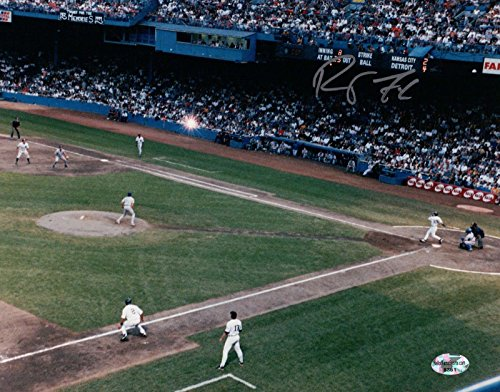 Robert Fick Signed 8X10 Photo Autograph Tiger Stadium Last HR Silver High w/COA (Sports Photographs)