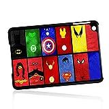 ( For iPad Mini 1/2/3, Generation 1 2 3) Phone Case Back Cover - HOT10874 Superhero Batman Spiderman Wonderwoman Superman HOT10874