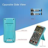 ETbotu ZOTEK Digital Multimeter,Portable 6000 Counts Auto Ranging Multi Tester OHM/Hz/Temp/Duty Cycle AC/DC Measuring Tester with Backlight LCD Display