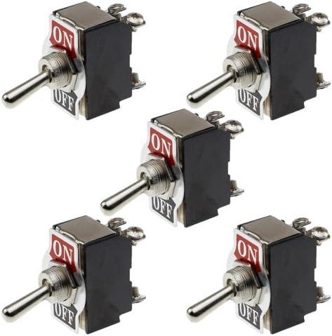 Remco 5x Kippschalter Switch 12v 25a Ein Aus Schalter On Off Auto