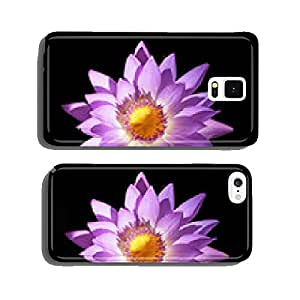 Water Lily on Black cell phone cover case iPhone5