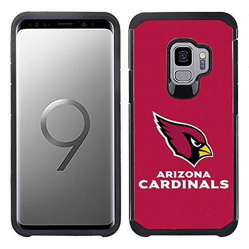 Prime Brands Group Carcasa para Samsung Galaxy S9 (Diseño con Textura de Equipo de Color con Licencia NFL, Diseño de...