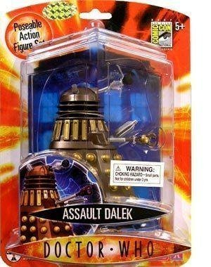 Doctor Who 2007 SDCC Exclusive Bronze/Chocolate Assault Dalek Action Figure