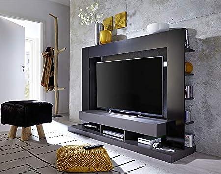 Kasalinea Alexia 2 - Mueble para televisor, Color Negro: Amazon.es: Hogar