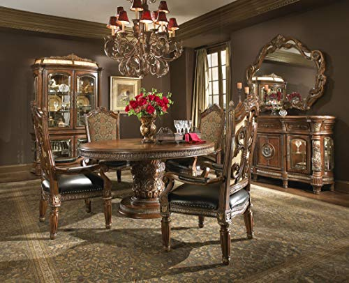 Aico Villa Valencia Round/Oval Dining Table with 6 Chairs Plus Sideboard