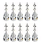 Pendants-teardrop Chandelier Crystal Pendants Glass Pendants Beads Pack of 12