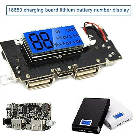 Abilieauty Mobile Power Bank - Cargador de batería (Dual USB ...