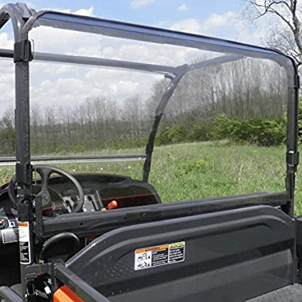 Amazon com: 3 Star Industries Kubota RTV 400/500 Rear Lexan