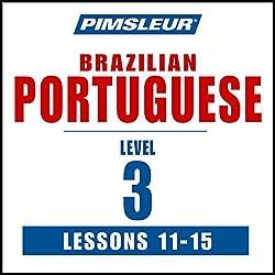 Pimsleur Portuguese (Brazilian) Level 3 Lessons 11-15