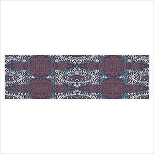 (Fish Tank Decorations Ethnic Floral Seamless Pattern Abstract Ornamental Pattern HD Fish Tank Decorations Sticker 29.5
