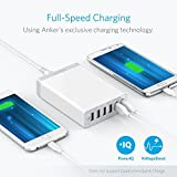 Anker 60W 6-Port USB Wall Charger, PowerPort 6 for iPhone 7 / 6s / Plus, iPad Pro/Air 2 / mini, Galaxy S7 / S6 / Edge/Plus, Note 5/4, LG, Nexus, HTC and More
