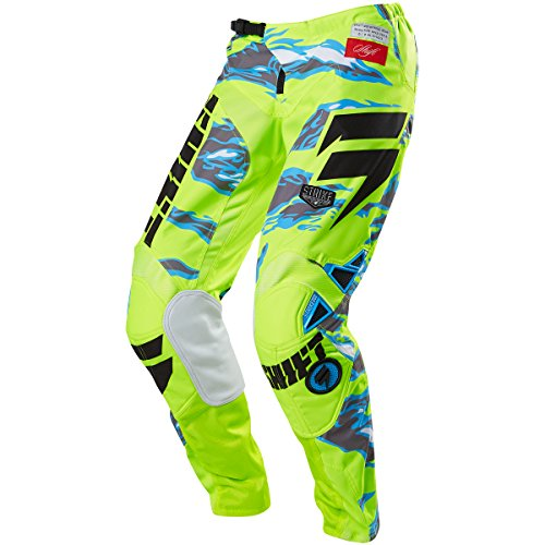 Shift Racing Strike Men's Off-Road Motorcycle Pants - Yellow Camo/Size - Strike Pants Shift