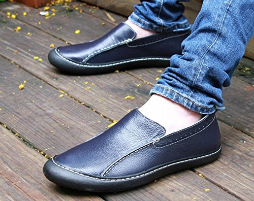 shoes first shoes leather single fashion layer 2017 high of 2 shoes men's new leather casual end AqaPwnxRFH