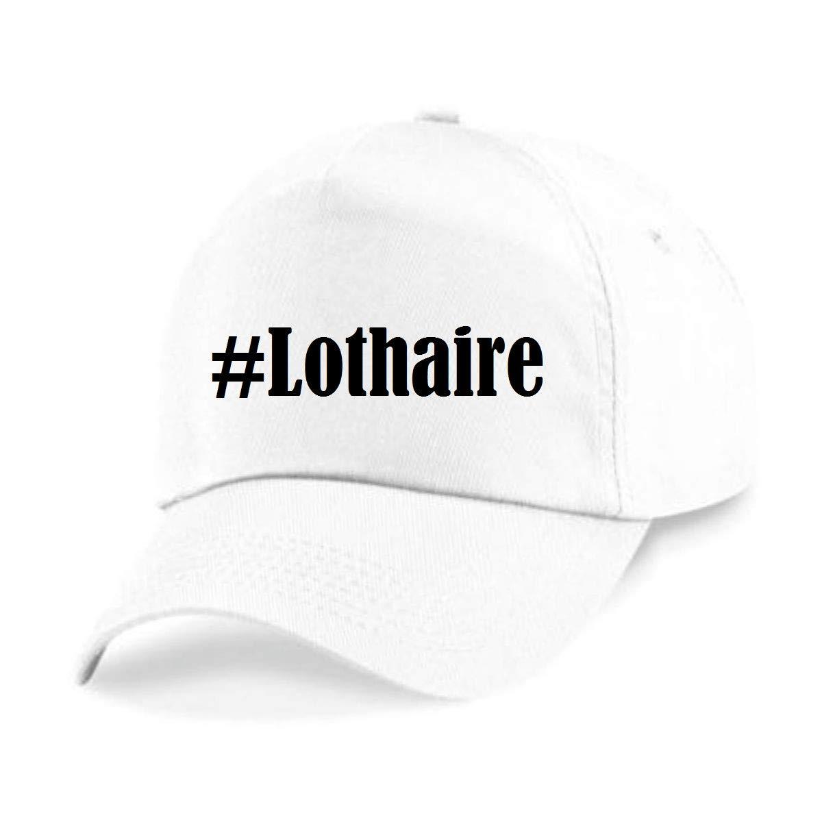 Casquettes de Baseball #Lothaire Hashtag Diamant Social Network Basecap pour Les Hommes Femmes Gar/çon /& Fille en Noir