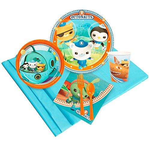 BirthdayExpress Octonauts Party Supplies - Party Pack for 24 Guests -