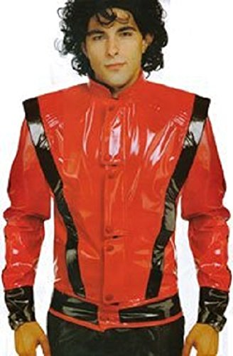 World's Greates Pop Star Adult Costume Large Jacket Size (90s Halloween Costumes)