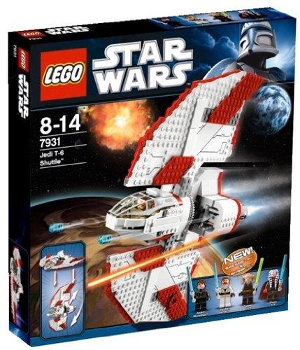 lego star wars 7931 jeu de construction t 6 jedi shuttle amazonfr jeux et jouets
