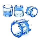 4 Pcs Octagon Cup, Dental Mixing Glass