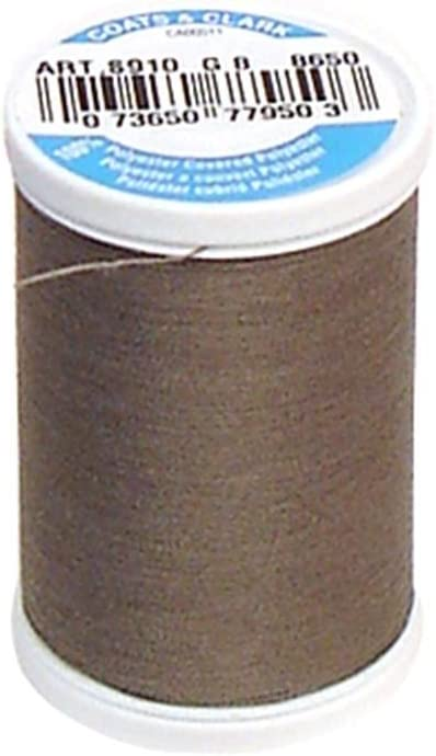 Coats Thread /& Zippers and CLARK Dual Duty XP General Purpose Celestial Black 125-Yard