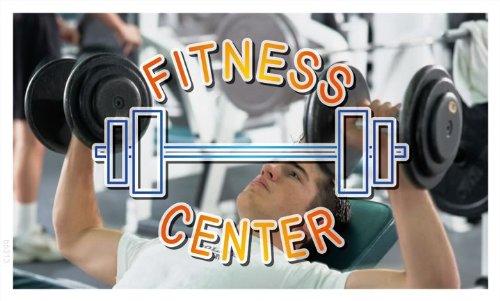 bb313 Fitness central de gimnasio cartel para fiesta con ...