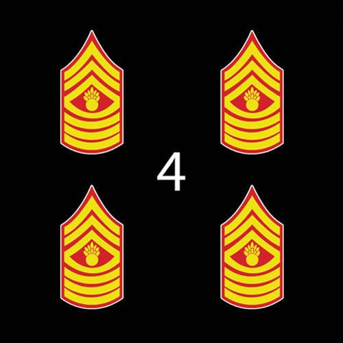 Marines USMC Rank Sleeve Master Gunnery Sergeant 3