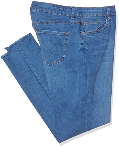 Look Thunder Blue Donna Blu New Jeans mid SUTqFPPA