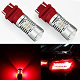 2012 camaro tail lights - JDM ASTAR 1260 Lumens Extremely Bright PX Chipsets 3056 3156 3057 3157 LED Bulb For Brake Light Tail lights Turn Signal, Brilliant Red