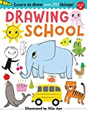 img - for Drawing School: Learn over 500 things to draw, step-by-step drawing that's easy and fun! book / textbook / text book