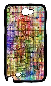 Colored Stone Wall Design Hard For Case Samsung Note 4 Cover -1126077