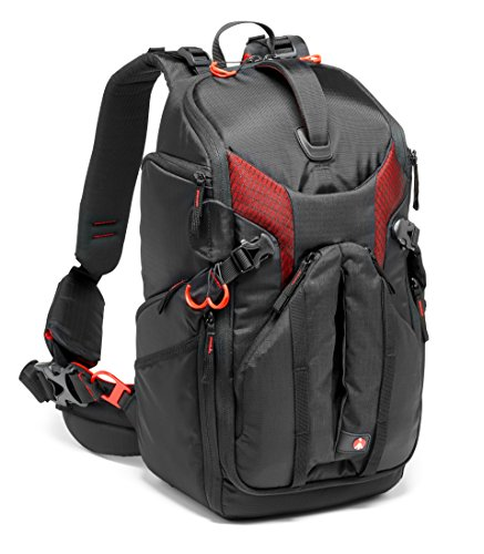 Manfrotto MB PL-3N1-26 Professional Pro Light Camera backpack 3N1-26 for DSLR/CSC/C100, Black (MB PL-3N1-26) by Manfrotto
