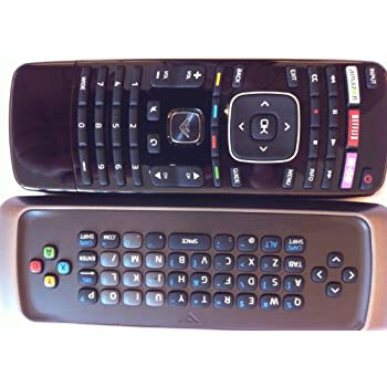 New Smart TV Remote control---with Qwerty dual side keyboard amazon--Netlix--M-GO Wide key for VIZIO TV