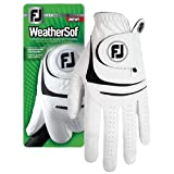 FootJoy WeatherSof Men's Golf Glove (for the right hand) (Medium)