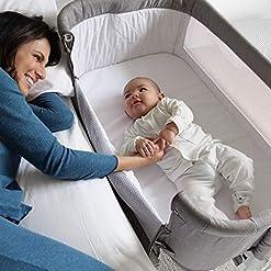Bedside-Bassinet-Crib-Baby-Bassinet-Bedside-Sleeper-Bassinet-for-Baby-Playpen-Wheeled-Portable-and-Adjustable-Bassinet-for-Newborn-Baby-Boy-Baby-Girl-Infant