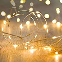 Metaku Fairy Lights Battery Operated LED String Lights Twinkle Christmas Lights Indoor Decorative Mini Lights for Home...