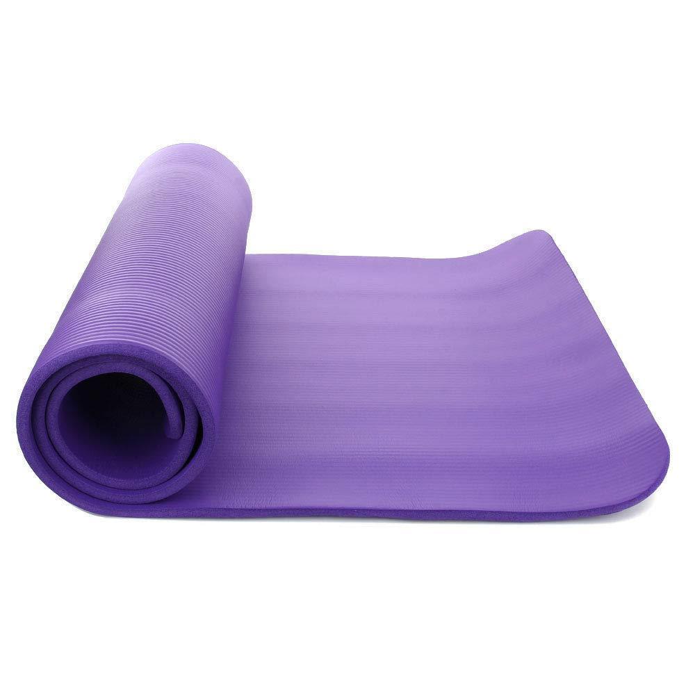 Amazon.com : Boon Earthie 15mm Purple Thick Yoga mat ...