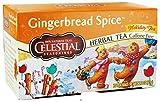 Celestial Seasonings Holiday Tea Gingerbread Spice Herb Tea, 20-count (Pack of 2)