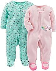 Simple Joy´s by Carter´s- Mamelucos de bebé para dormir, niña