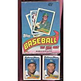 1989 Topps Baseball Set Wax Pack Box FACTORY SEALED Gary Sheffield Rookie Card
