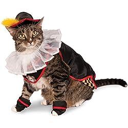 Rubie's Puss in Boots Juego de Accesorios para Disfraz de Mascota, NS