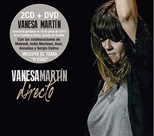 CD : Vanesa Martin - Directo (With DVD, Spain - Import, 3PC)