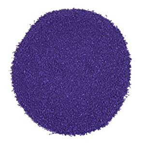 Koyal Wholesale Centerpiece Vase Filler Decorative Sand, 1.3-Pound, Royal Purple