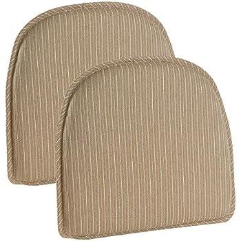 Gripper Nikita Delightfill Chair Cushion (set Of 2) (Natural)