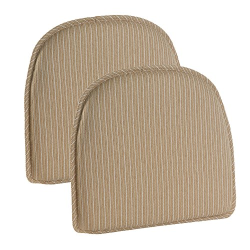 Klear Vu Nikita Chair Pads, Natural
