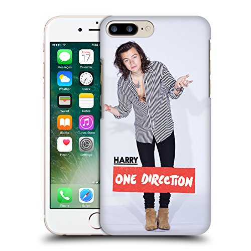 Official One Direction Pose Harry Styles Photo Hard Back Case for Apple iPhone 7 Plus