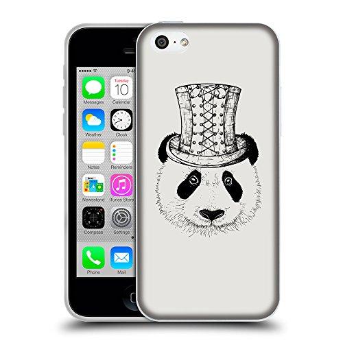 GoGoMobile Coque de Protection TPU Silicone Case pour // Q08350631 Chapeau panada Platine // Apple iPhone 5C