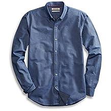 Goodthreads Men's Standard-Fit Long-Sleeve Solid Oxford Shirt